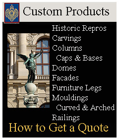 Custom architectural products are our specialty