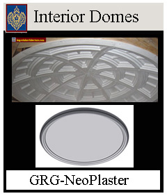 Imperial Interior Domes Fiberglass and GRG Plaster