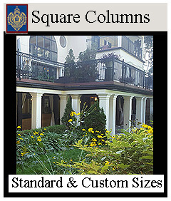 Imperial Square Columns Load Bearing and Decorative