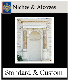 Niches and alcoves