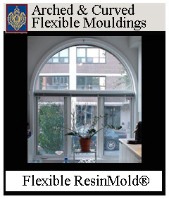 Flexible ResinMold for Curves and Arches