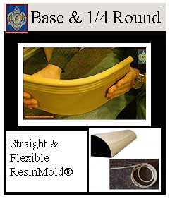 Imperial flexible baseboards and quarter rounds