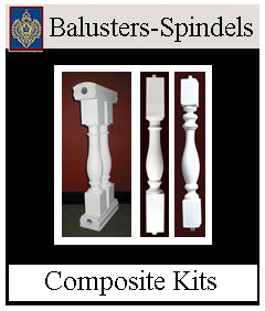 composite Approved Railings and Balusters