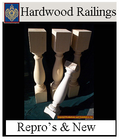 Hardwood Spindle Historic Recreations