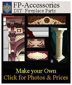 Fireplace accessories for the DIY